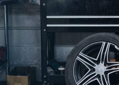 Dæk monteres på fælge